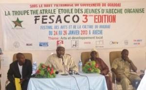 Cérémonie du lancement officiel du FESACO